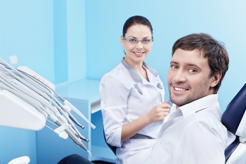 relax in dental chair sedation dentistry