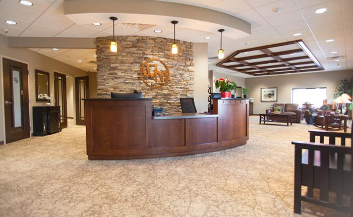 Amherts lobby