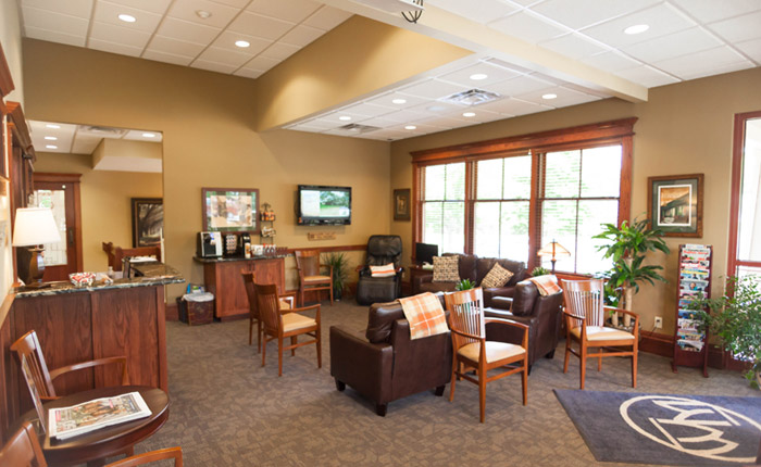 Office lobby in East Aurora