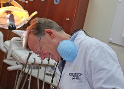 Dr Martin smiling